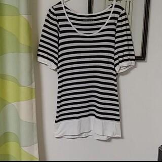 ローリーズファーム(LOWRYS FARM)のローリーズファーム Mサイズ ボーダー(Tシャツ(半袖/袖なし))
