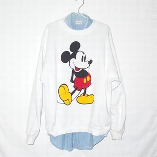 ミッキーマウス(ミッキーマウス)の▪️80's【MICKEY】VINTAGE SWEAT(トレーナー/スウェット)