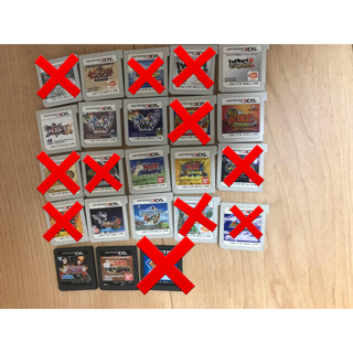 3DS DS カセット まとめ売り(携帯用ゲームソフト)
