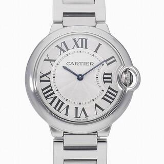 カルティエ(Cartier)の[c3885]カルティエ バロンブルー MM 36MM W69011Z4 中古(腕時計(アナログ))