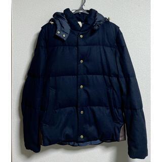 TAKEO KIKUCHI - タケオキクチ 3wayダウンジャケット 紺色