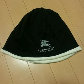バーバリー(BURBERRY)の最終値下げ💴⤵BURBERRY BLニット帽(ニット帽/ビーニー)