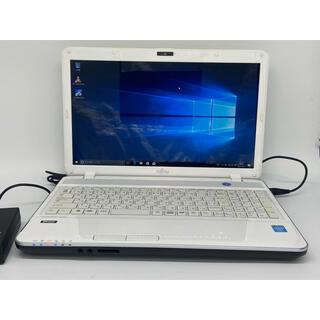 富士通 - Windows10 富士通 アーバンホワイト ノートパソコン オフィス
