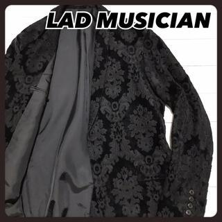 LAD MUSICIAN - ☆良品☆  ラッドミュージシャン ベルベット テーラードジャケット アラベスク