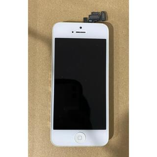 アップル(Apple)のiPhone5 純正フロントパネル(その他)