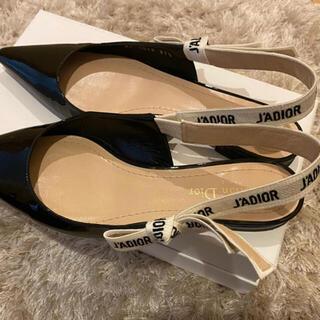 クリスチャンディオール(Christian Dior)のJ'ADIOR♡ スリングバック バレエフラットシューズ(バレエシューズ)