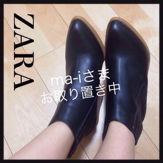 ザラ(ZARA)のZARA ショートブーツ ブーティ(ブーツ)