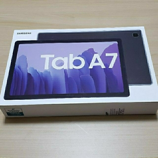 サムスン(SAMSUNG)のGalaxy tab a7 ギャラクシー タブレット 本体 付属品多数あり(タブレット)
