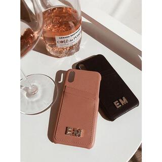エイミーイストワール(eimy istoire)のeimy istoire EM CrystalロゴiPhone11ケース(iPhoneケース)