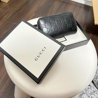 グッチ(Gucci)のGUCCI グッチ シマ 財布 コインケース 正規品 小銭入れ カードケース(コインケース/小銭入れ)