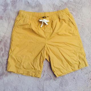 ムジルシリョウヒン(MUJI (無印良品))のカラー···マスタード #無印良品 #ハーフパンツ (ショートパンツ)