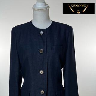 クリスチャンディオール(Christian Dior)のC1 クリスチャンディオール テーラードジャケット 紺 ネイビー ジャケット (テーラードジャケット)