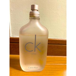 カルバンクライン(Calvin Klein)のカルバンクライン シーケーワン オード・トワレ 100ml(ユニセックス)