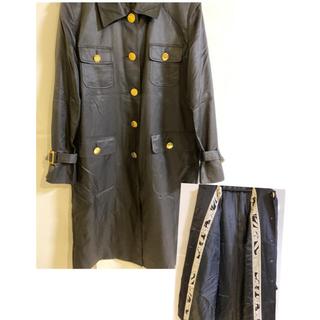 レオナール(LEONARD)のLEONARD コート 黒(トレンチコート)