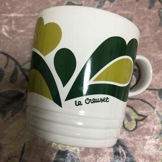 ルクルーゼ(LE CREUSET)のルクルーゼ ピーコック マグカップ(グラス/カップ)