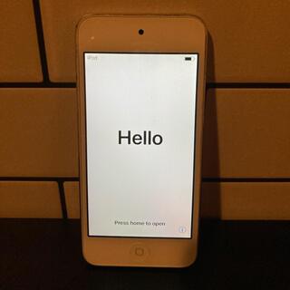 アイポッドタッチ(iPod touch)のipod touch 第6世代 シルバー 16G アイポッドタッチ(ポータブルプレーヤー)