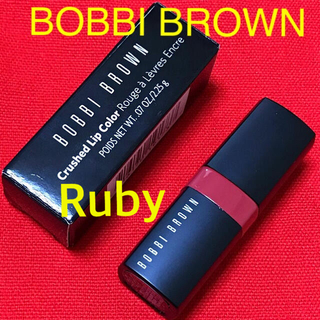 BOBBI BROWN - 箱入り✨クラッシュド リップカラー 04 ルビー♡ボビイブラウン ボビィブラウン