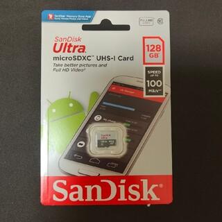 サンディスク(SanDisk)の新品未使用 microSD SanDisk Ultra 128GB(その他)