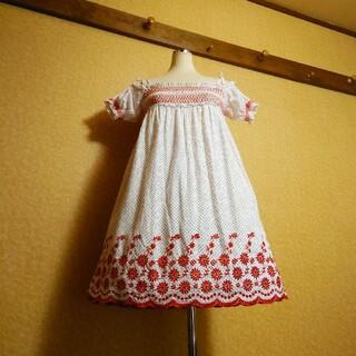 大きいサイズ~LL3L4L5L★赤い糸の刺繍が♡♡