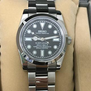 セイコー(SEIKO)の超美品! セイコー メンズ 機械式 カスタム 自動巻 手巻き NH35(腕時計(アナログ))