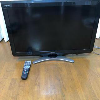 アクオス(AQUOS)の美品 シャープ 32v型ワイド液晶テレビ すぐ観れます。匿名送料込み(テレビ)