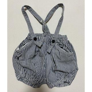 ブリーズ(BREEZE)の【BREEZE】ブリーズ ベビーサロペット 80 子供服(カバーオール)