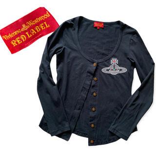 Vivienne Westwood - Vivienne Westwood オーブ刺繍 カーディガン (293)