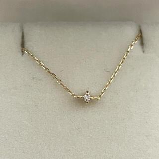 エテ(ete)のete エテ K18 YG ダイヤモンド ブレスレット(ブレスレット/バングル)
