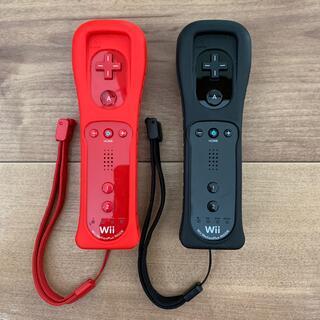 ウィーユー(Wii U)のWii リモコンプラス & ヌンチャク 2個セット動作確認済(家庭用ゲーム機本体)