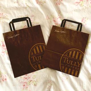 タリーズコーヒー(TULLY'S COFFEE)のタリーズショッパーセット(ショップ袋)