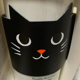 Starbucks Coffee - スターバックス ハロウィン 黒猫スリーブのみ