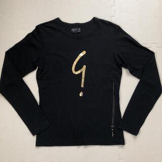アニエスベー(agnes b.)のagnes b. 長袖Tシャツ 黒(Tシャツ(長袖/七分))