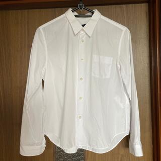 コムデギャルソン(COMME des GARCONS)のコムデギャルソンtricot白シャツ(シャツ/ブラウス(長袖/七分))