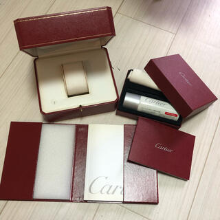 カルティエ(Cartier)のCartier 空箱 クリーナー book 3点セット(ショップ袋)