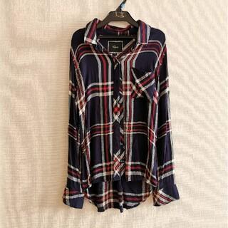 ローズバッド(ROSE BUD)のRailsチェックシャツ(シャツ/ブラウス(長袖/七分))