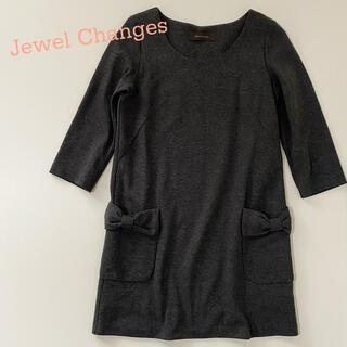 ジュエルチェンジズ(Jewel Changes)のJewel Changes ジュエルチェンジズ リボンポケットワンピース(ひざ丈ワンピース)