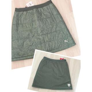 PUMA - 新品未使用 PUMA GOLF プーマ ゴルフ リバーシブルスカート サイズ M