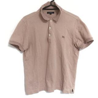 バーバリー(BURBERRY)のバーバリーロンドン 半袖ポロシャツ M美品 (ポロシャツ)