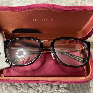 Gucci - GUCCIメガネ伊達眼鏡に 新品