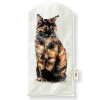 フェリシモ(FELISSIMO)の新品 フェリシモ 猫部 ペットボトル タオル (サビ) 猫 ねこ ネコ(ハンカチ)
