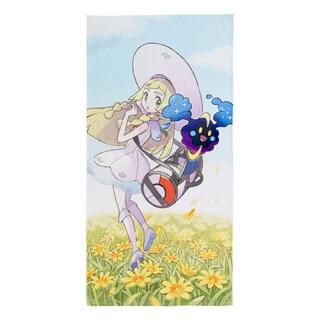 ポケモン(ポケモン)のポケモンS&M「リーリエ  コスモッグ ビッグバスタオル」(タオル)