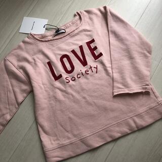 ロンハーマン(Ron Herman)のthe new society ☆ LOVE スエット 4y(Tシャツ/カットソー)