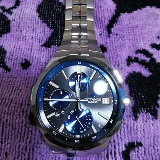 CASIO - ☆美品☆ CASIO  オシアナス 腕時計 OCW-S5000E-1AJF