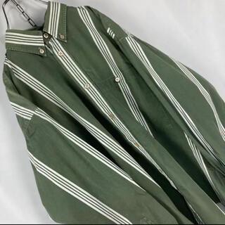 ケンゾー(KENZO)の☆日本製☆KENZO☆グッドデザイン☆BDストライプシャツ☆人気カラー(シャツ)