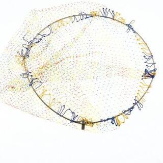 ガマカツ(がまかつ)のがまかつ 四つ折り チタン 玉枠 45cm 網付き/X354M(その他)