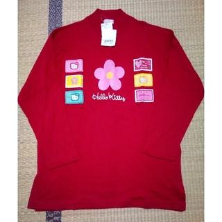 サンリオ(サンリオ)のハローキティ タグ付きTシャツ レディースMサイズ(Tシャツ(長袖/七分))
