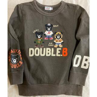 ダブルビー(DOUBLE.B)のダブルビー トレーナー 110(その他)