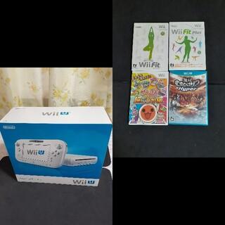 ウィーユー(Wii U)のニンテンドー Wii U 本体 +ソフト4本 リモコン追加パック 他(家庭用ゲーム機本体)