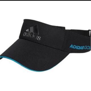 adidas - アディダスメタルロゴサンバイザー