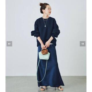プラージュ(Plage)の新品未使用*バイアスナチュラルサテンスカート(ロングスカート)